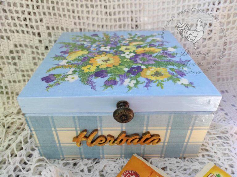Herbaciarka w polne kwiaty …;)